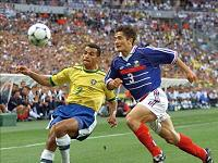 Frankrike Brasilien Matchreferat