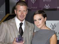 Fotbollsfrun Victoria Beckhams parfym