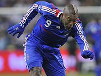 Spela på VM-matchen Schweiz Frankrike.