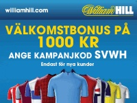 William Hill bonus.